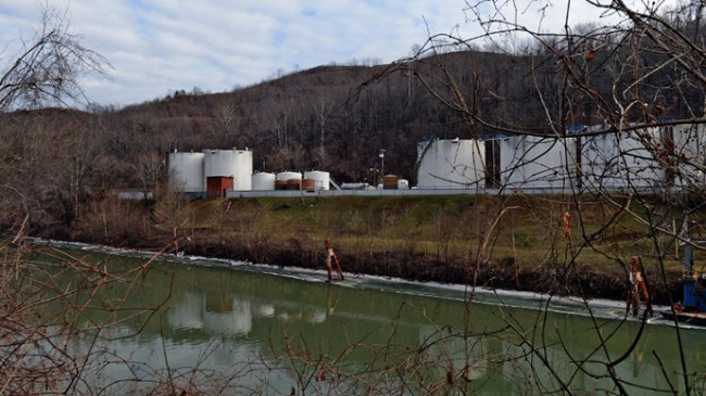 West Virginia toxic chemical storage