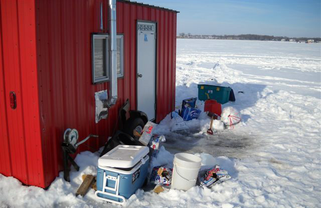Great Lakes Ice Fishing Is Risky yet Rewarding