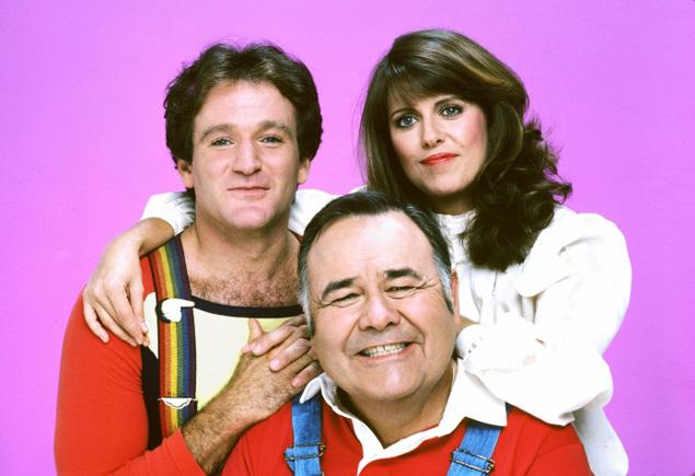 entertainment, mork and mindy, robin williams, pam dawber, the crazy ones