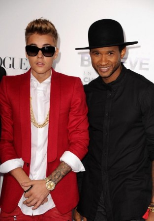 Usher has voiced concerns for his young protege.