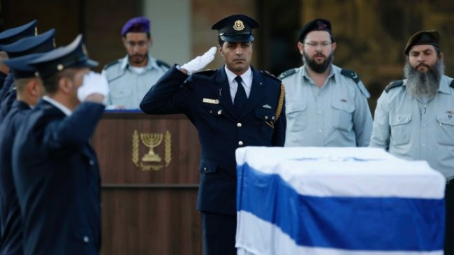 Israeli Prime Minister Ariel Sharon Laid to Rest