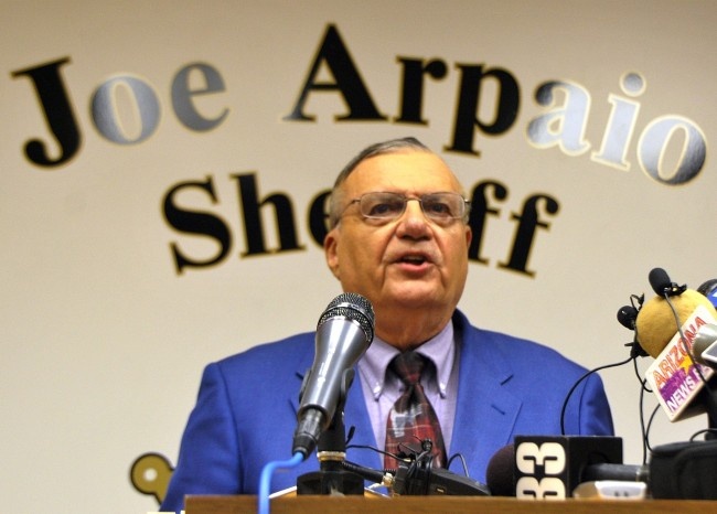 Arizona Sheriff Arpaio