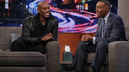 Arsenio Hall interviewed Tyrese Gibson on the Arsenio Hall Show on Jan 13
