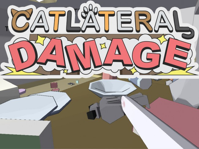 Catlateral Damage, emphasis on the cat