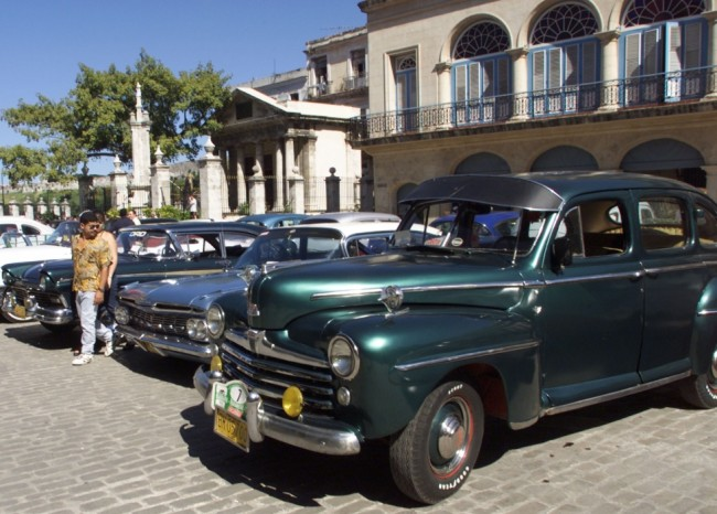 Cuba, car, markups