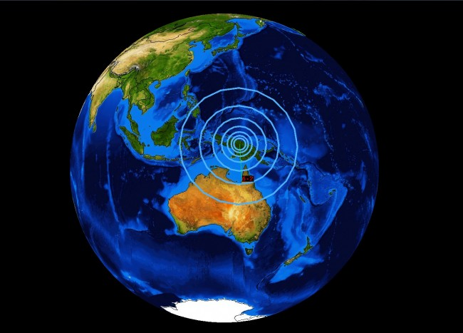 Earthquakes Rock Southwestern Pacific Ring
