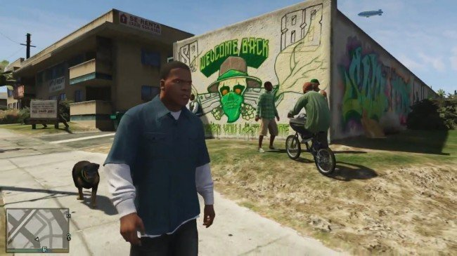 GTA 5 gameplay footage fake