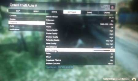GTA 5 menu alleged to have been created for the PC
