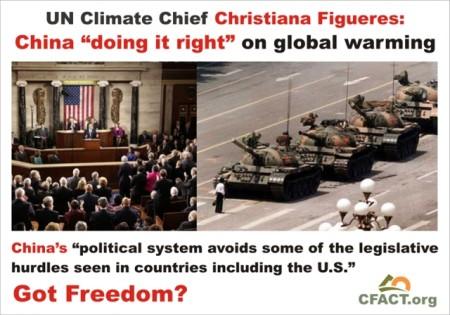 Global Warming Enhanced By Democracy?