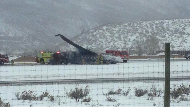 Private Jet Crash at Aspen Airport Kills One