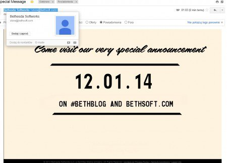 Hoax Fallout 4 email alleged to have derived from Bethesda