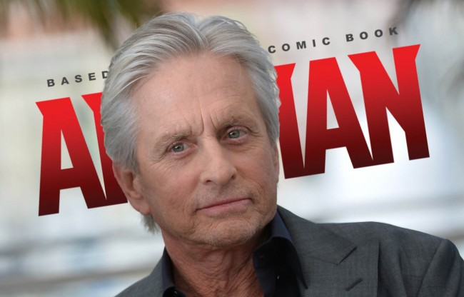 Michael Douglas Signed to Play Ant-Man Hank Pym
