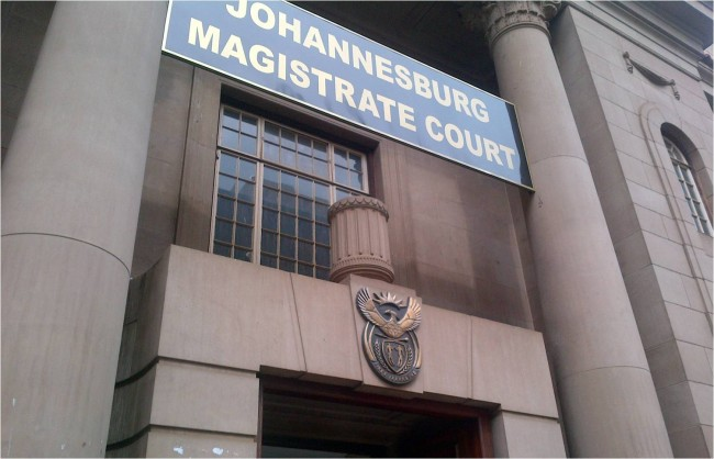 Johannesburg Magistrate Court caged like animals