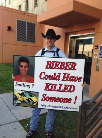 Justin Bieber could have killed someone comment