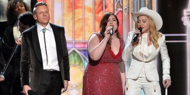 Grammys, Macklemore, Madonna, Queen Latifah, Same Love, Group Wedding