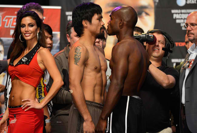 Manny Pacquiao Gets His Rematch