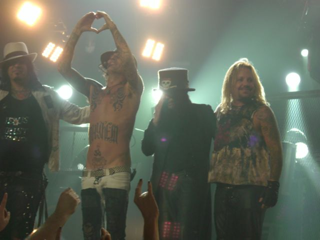 Motley Crue To Retire After Final Concert Tour