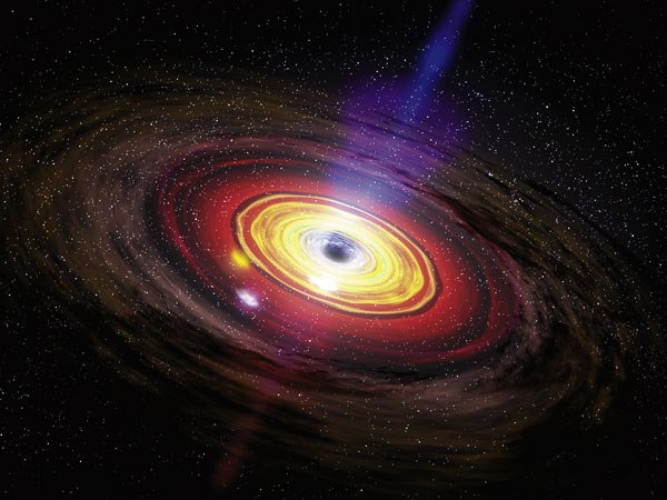 Rare Crash Coming To Milky Way Black Hole