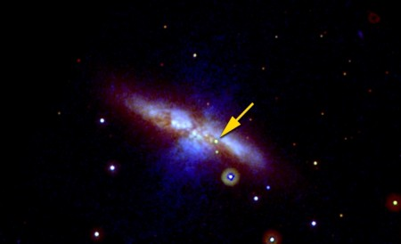NASA Observes Supernova Explosion