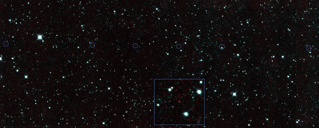 NASA NEOWISE spots asteroid
