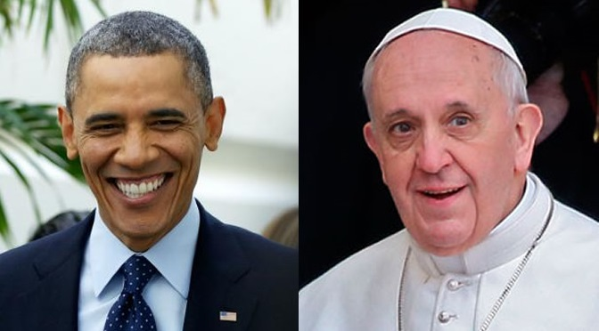 President Obama and Pope Francis have plans to meet in March