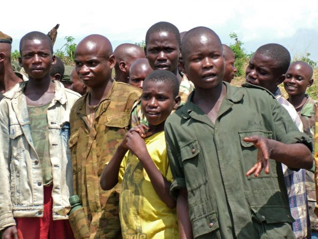 War orphans turned child soldiers