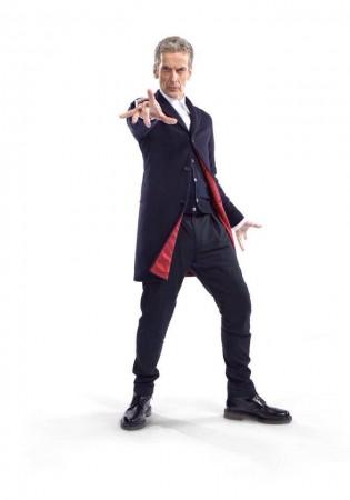 Peter Capaldi New Doctor Who Costume