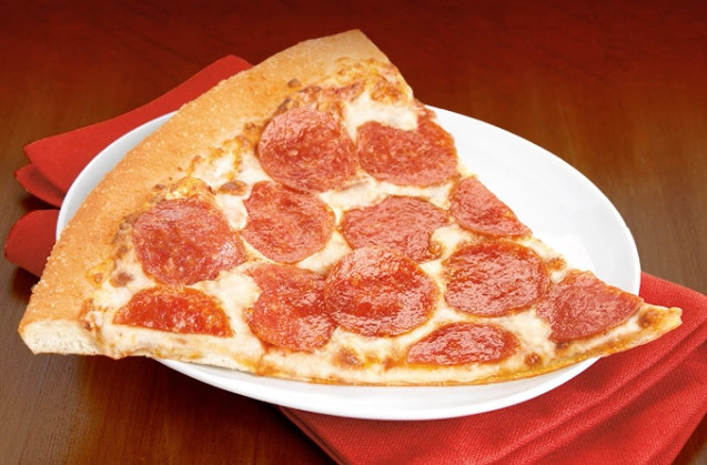 Pizza Hut offers pizza by the slice