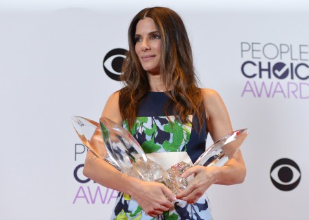 Sandra Bullock Takes Home Four People's Choice Trophies