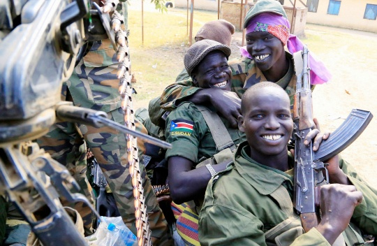 South Sudan Rebels Toward National Capital Juba