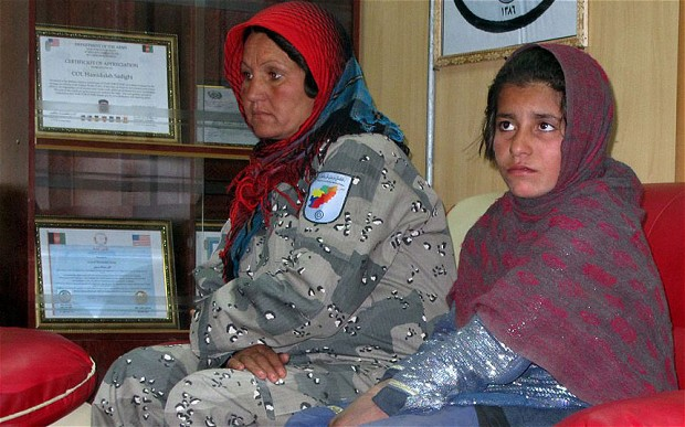 Ten Year Old Afghan Girl Sent Out in Suicide Vest
