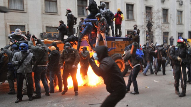 Ukraine Protests Spiral Out of Control