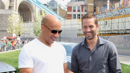 Vin Diesel and Paul Walker picture posted on Facebook
