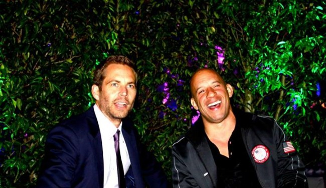 Vin Diesel mourns Paul Walker on Facebook
