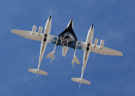 Virgin Galactic SS2 on WK1 image