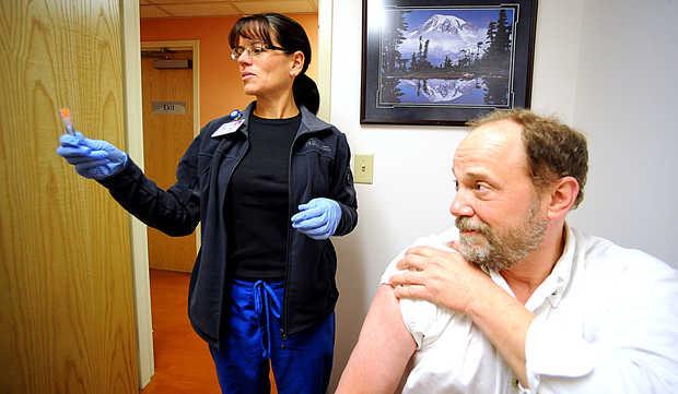 Volunteers Getting Flu On Purpose