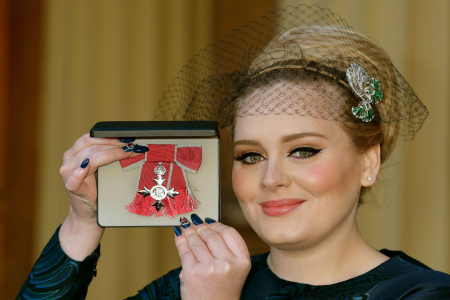 Adele Honored by Prince Charles
