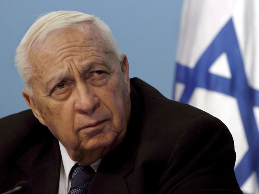 Former prime minister Ariel Sharon has died