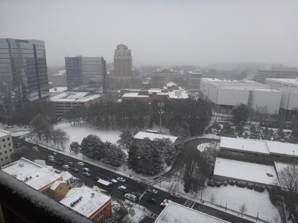 Atlanta Snowfall