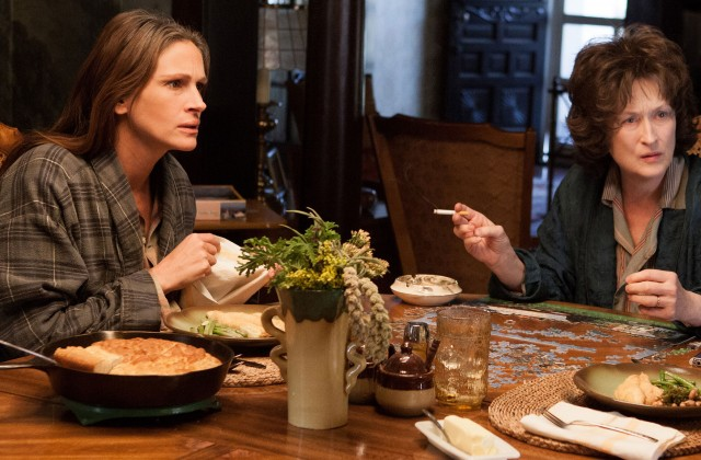 Streep and Roberts Wrestle in August Osage County