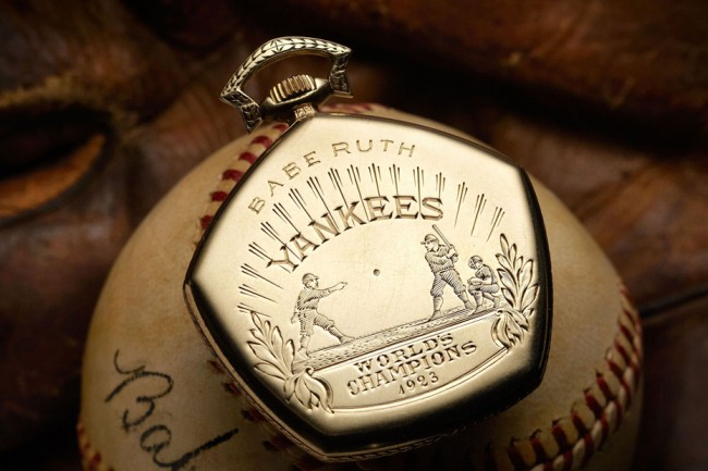 Babe Ruth: $750,000 World Series Watch