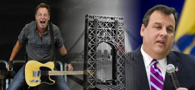 Bruce Springsteen Sends Up Chris Christie