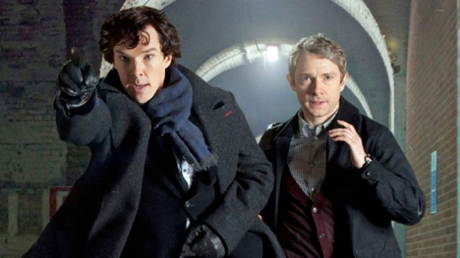 Sherlock Debuts With The Empty Hearse on PBS