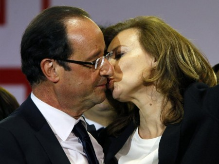 Trierweiler and Hollande in Happier Times