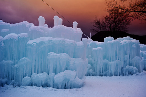 Ice Castles are Frozen Fun for Tourists