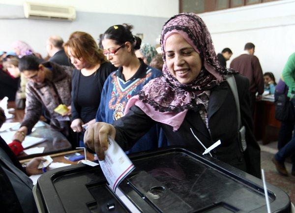 Egypt Casts Votes