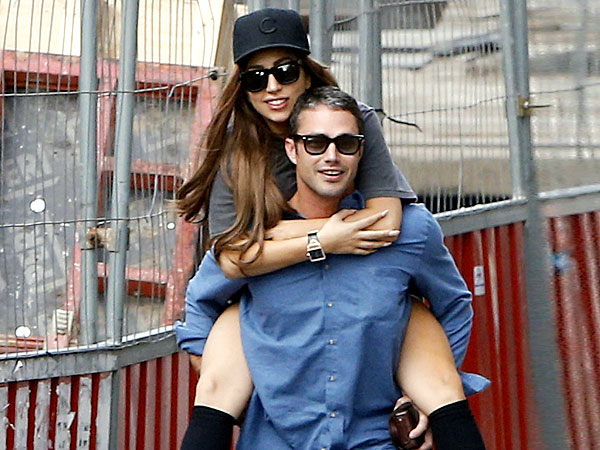 Lady Gaga and Boyfriend Taylor Kinney Pack on the PDA