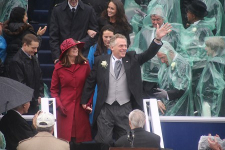 Terry McAuliffe Inaugurated as Virginia's 72nd Governor