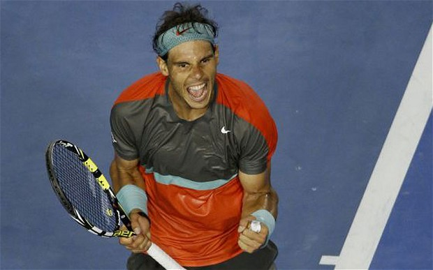 Australian Open: Nadal Withstands a Strong Nishikori