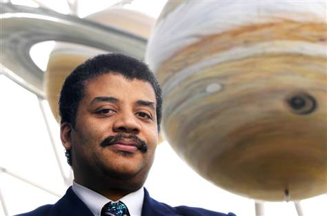 Neil deGrasse Tyson Is at Home in the Universe